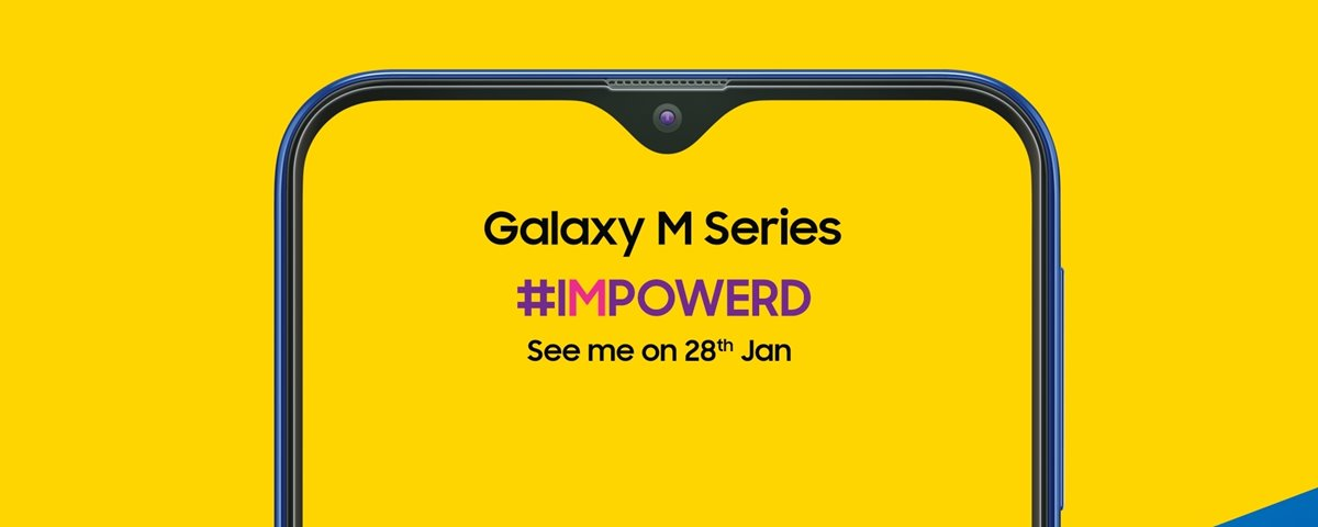 Samsung Galaxy M with infinity V Notch to launch on January 28