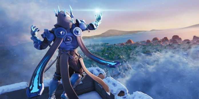 Fortnite Season 7 Week 8 Snowfall Secret Banner Location Photo