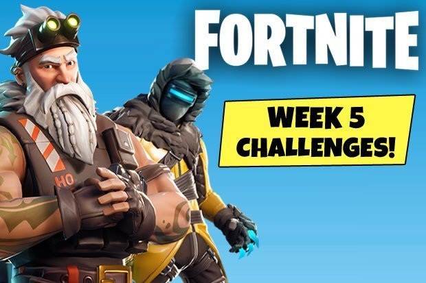 Fortnite Season 7 Week 5 Challenges