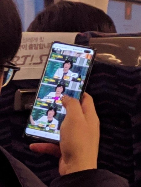 Samsung Galaxy S10 Live Image Leaked