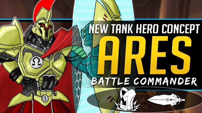 Overwatch New Hero Ares Tank Concept Release Photo