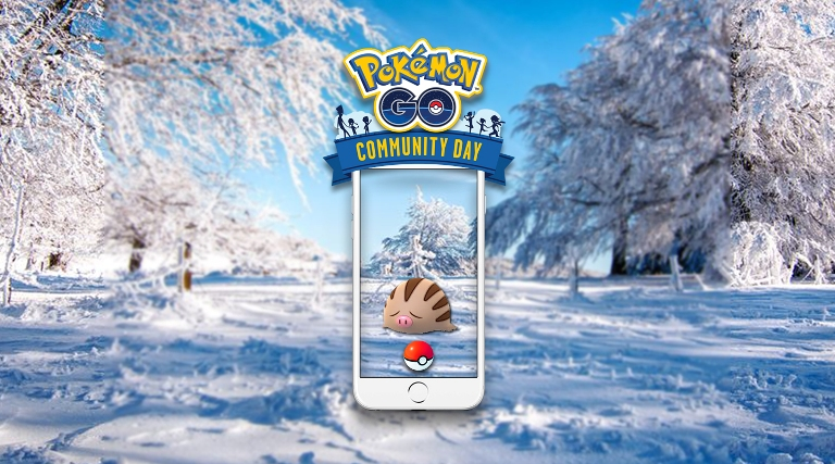 Pokemon Go Swinub Community Day February 2019 Announced Photo