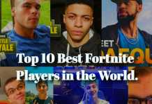 Top 10 best Fortnite players list