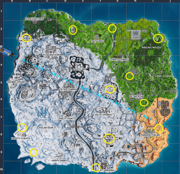 10 Golden Balloon Locations