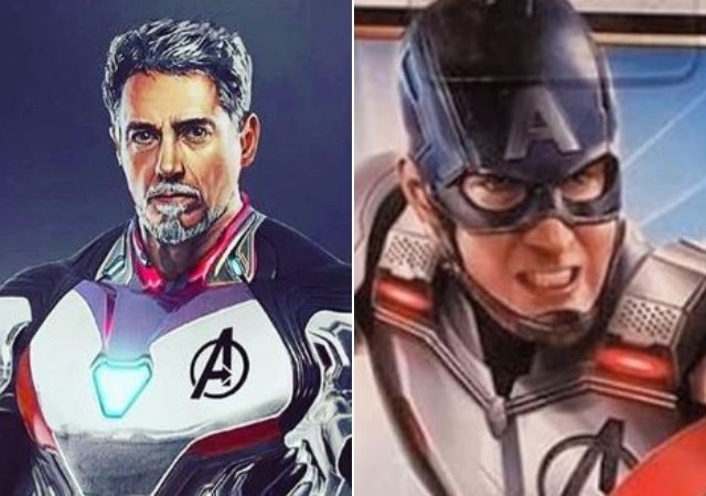 Iron Man and Captain America's NEW uniforms LEAKED: Avengers Endgame