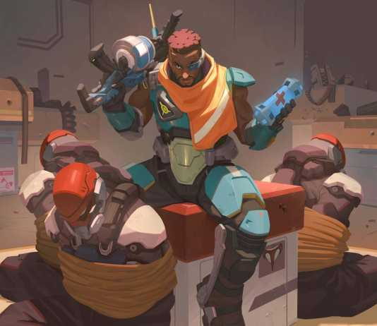 New Overwatch hero Baptiste
