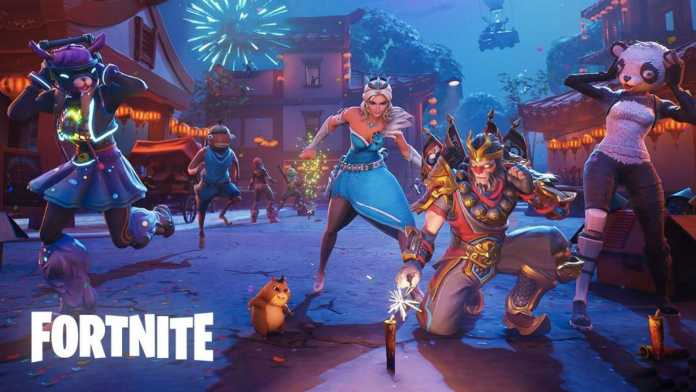 Chinese New Year Event Fortnite