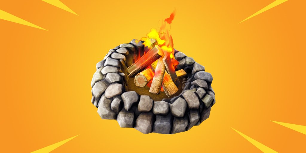 Foraged Campfire In Fortnite