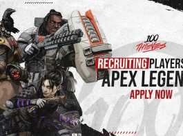 100 Thieves is Recruiting Players for Apex Legend : Here is How to Apply.
