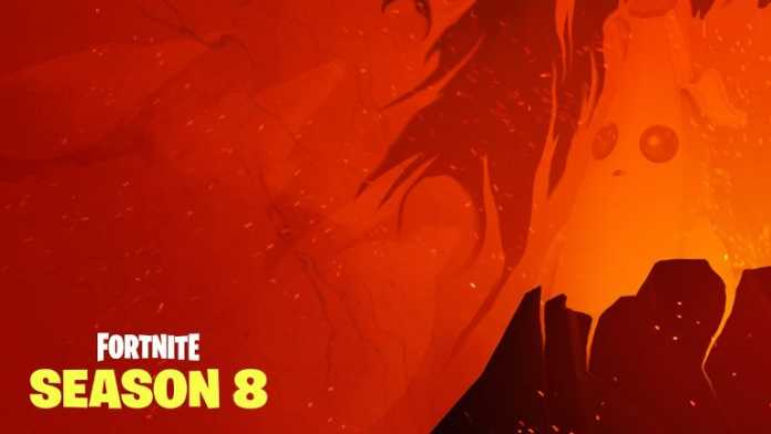 Final Fortnite Season 8 Teaser reveals volcano eruption and a banana Photo