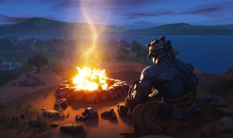 Fortnite Foraged Campfires Location on Fortnite Map 1 Photo