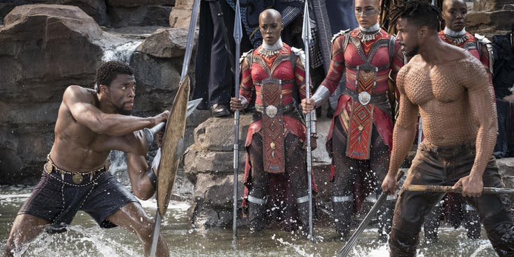 Marvel Studios won its First Oscar for Black Panther 1 Photo