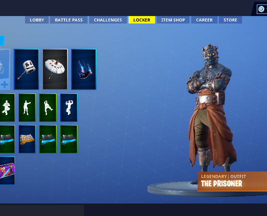 Where to Find the Keys and Campfires to Unlock the Prisoner Snowfall Skin Stages Photo