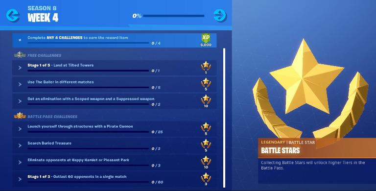 Fortnite Season 8 Week 4 Challenges Guide, Cheatsheet, Pirate Cannon Location, Baller Location 1 Photo