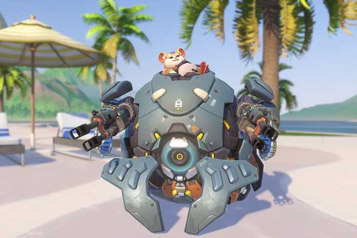 counter Wrecking Ball's rolling attack in Overwatch