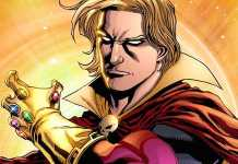 Nikolaj Coster-Waldau version of Marvel Adam Warlock