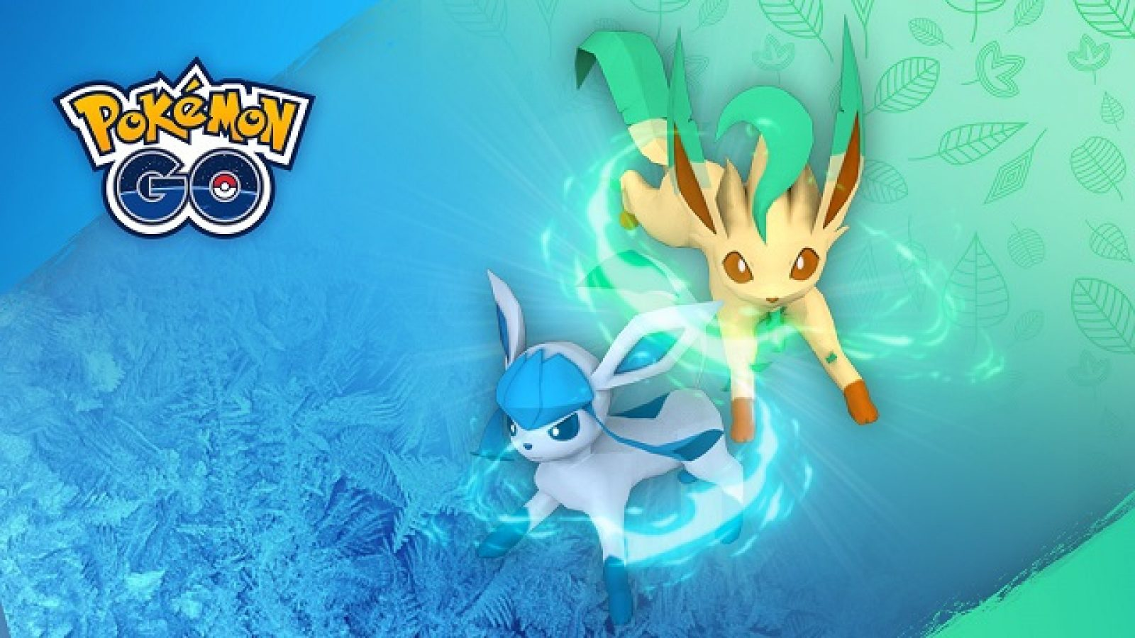 Pokemon Go Leafeon and Glaceon