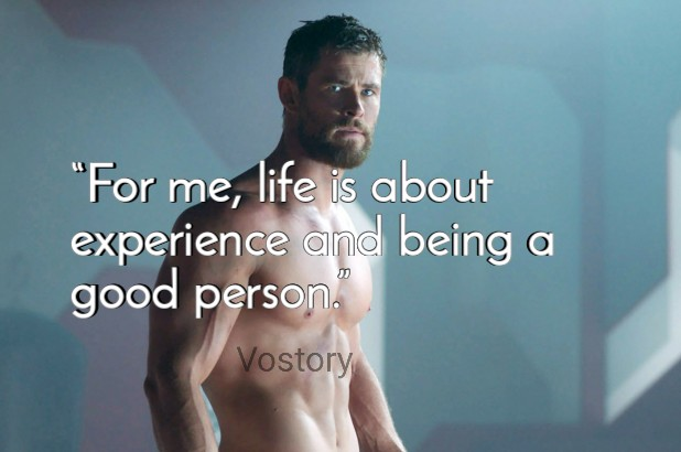 10 Best Quotes by Chris Hemsworth (aka THOR)