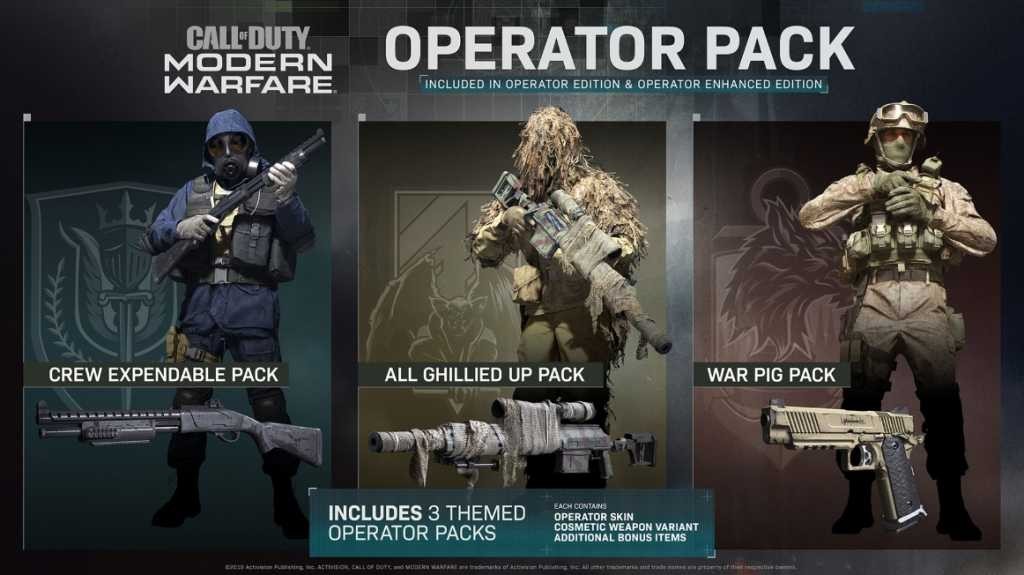 Operators Call of Duty Modern Warfare Specialists replacement 1 Photo