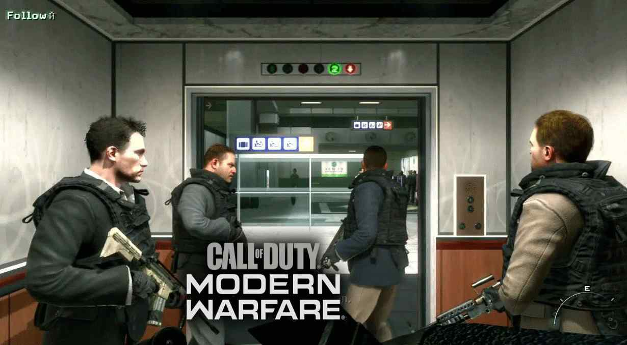 No russian Call of Duty: Modern Warfare
