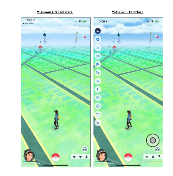 Pokemon Go hacked apps