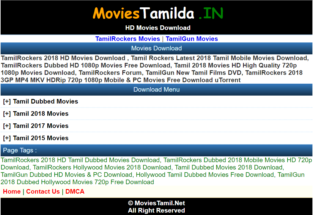Moviestamilda In Website 2019: Latest Tamil Dubbed HD Movies Free